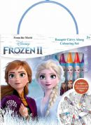 FROZEN 2 BUMPER COLOURING SET